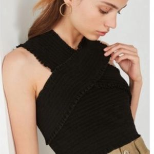ISO Urban Outfitters Cross Neck Top